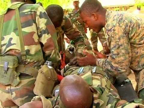 Marines teach Senegalese military how to save lives