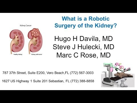 What Is Robotic Surgery of the Kidney