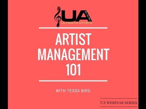 Artist Management 101