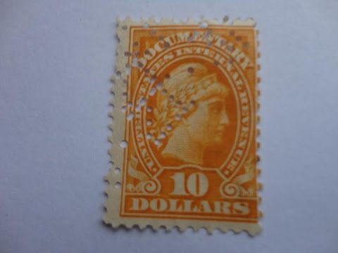 Internal Revenue Documentary Postage Stamp & More