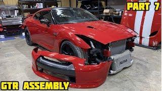 Rebuilding a Wrecked 2010 Nissan GTR Part 7