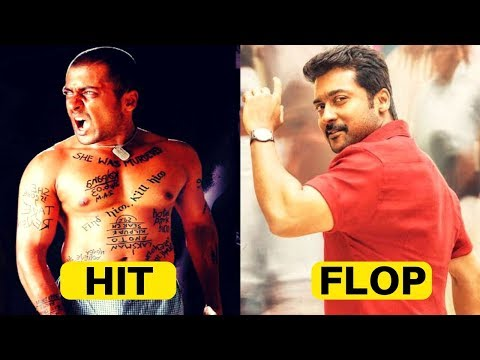 Surya Hit and Flop Movies | Surya All Movies Box Office Collection | Complete Movies List