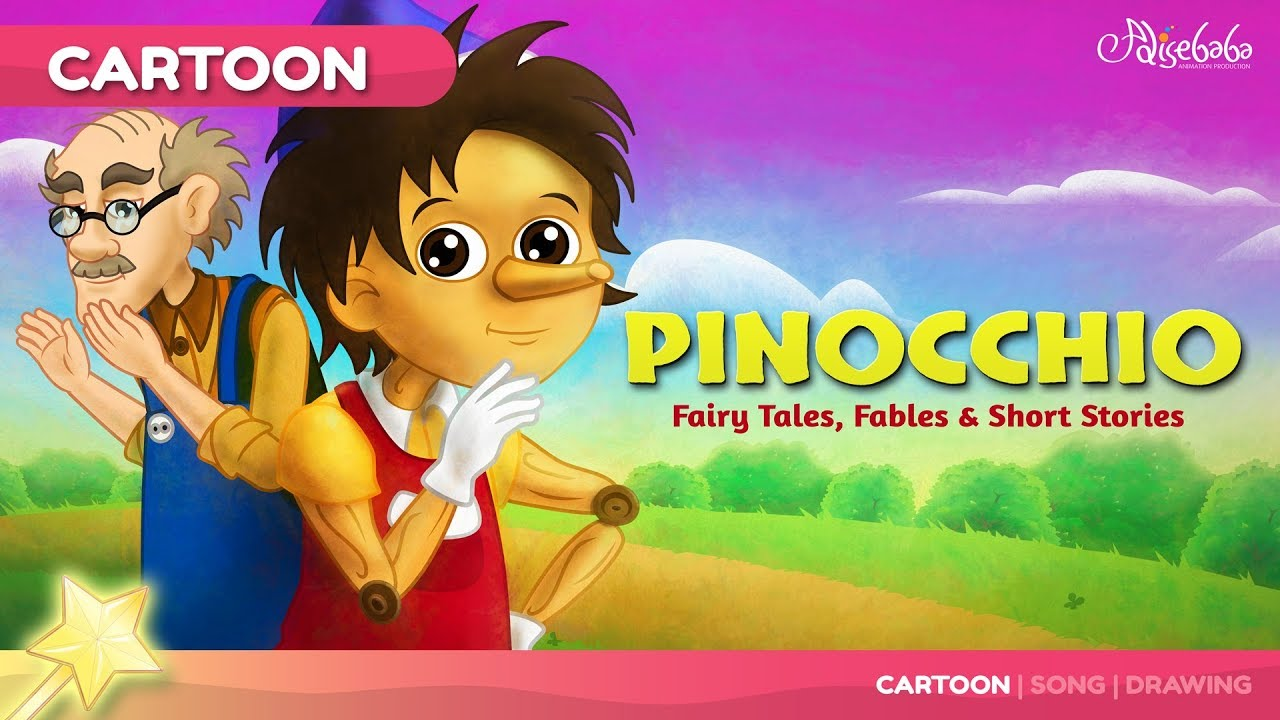 Pinocchio | Fairy Tales and Bedtime Stories for Kids | Adventure Story
