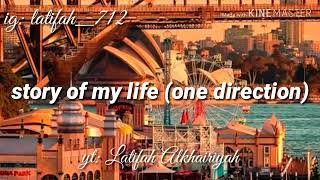 Video lirik lagu story of my life (one direction)