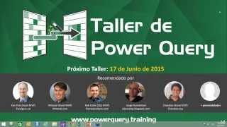 [Español] Power Query para Excel  Conquistando mis datos de manera sencilla