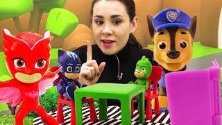 Валя и Герои в масках лучшие серии. Видео для детей