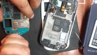 Samsung GALAXY S III mini замена микрофона