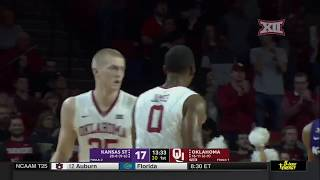 Kansas State vs Oklahoma Men's Basketball Highlights