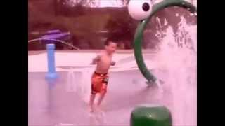 Splash Pad At Pine Cradle Lake Campground!!