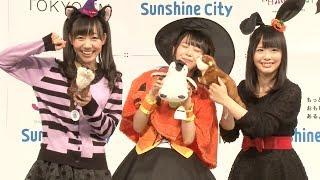 人気アイドルグループ・SKE48の高柳明音が28日、東京・池袋のサンシャイ...