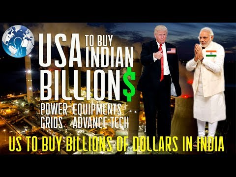 USA to Buy $100 BILLION worth Power Grid Equipment from INDIA