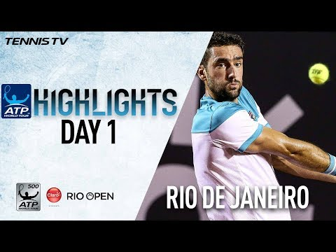 Watch Highlights: Cilic Cruises In Rio Debut