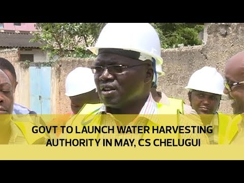 Government to launch water harvesting authority in May - CS Chelugui