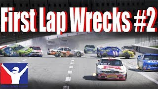 iRacing Crash Compilation | First Lap Wrecks #2
