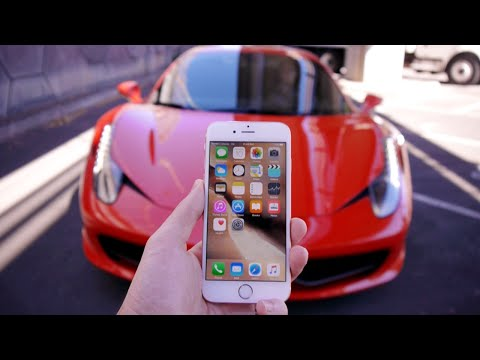 Driving Over an iPhone 6S with a Ferrari - Will it Survive?