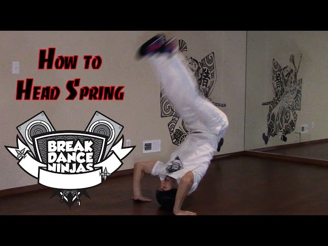 How to Breakdance | Front Headspring