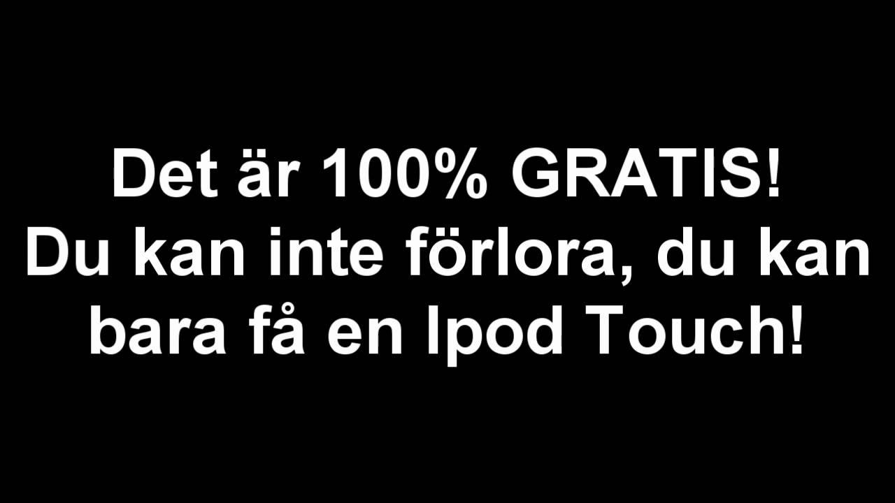 gratis porr för iPod