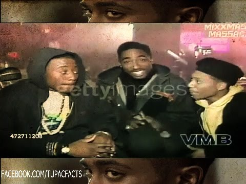 (RARE) Tupac Interview On The Set Of JUICE