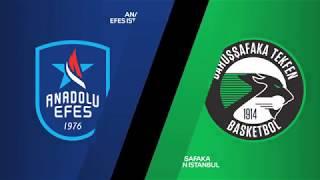 #EuroLeague 19. Hafta: Anadolu Efes - Darüşşafaka Tekfen