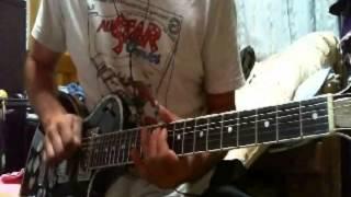 ミスだらけ~ ギターソロはテキトーです.