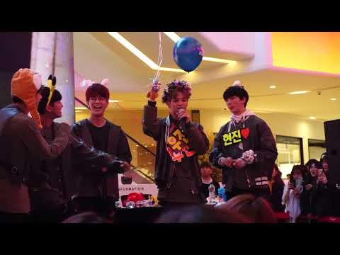 180409 STRAY KIDS GOYANG FANSIGN ( Grow Up (잘 하고 있어) + ENDING)
