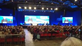 Jim Lynch at 2015 SNP conference
