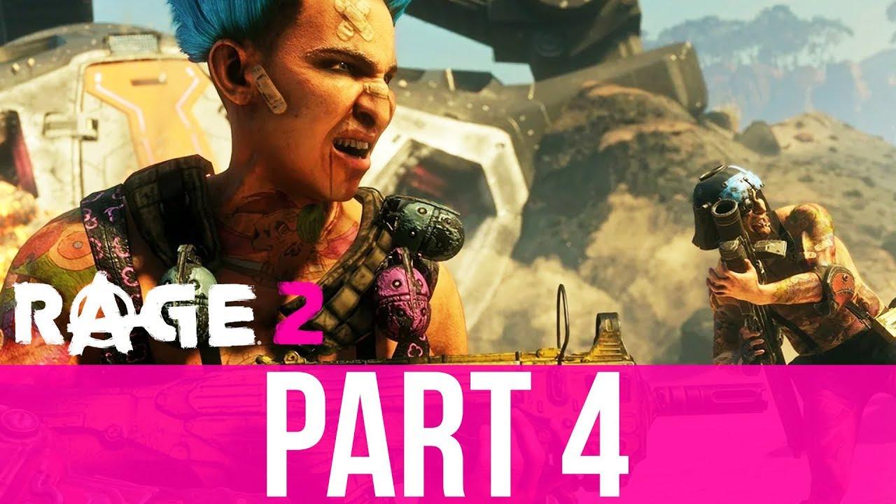 Komplettlösung zum RAGE 2-Gameplay - Teil 4 - KULT DES TODESGOTTES (Vollversion) + video