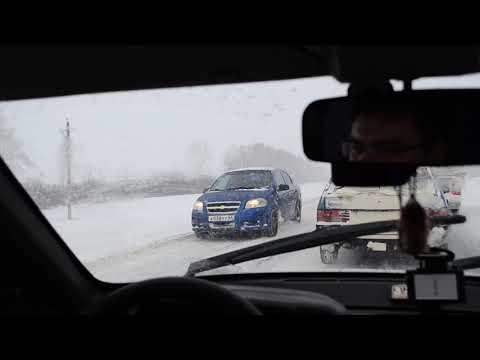 Трасса СЕРДОБСК - ПЕНЗА (январь 2019) / Пензенская область /