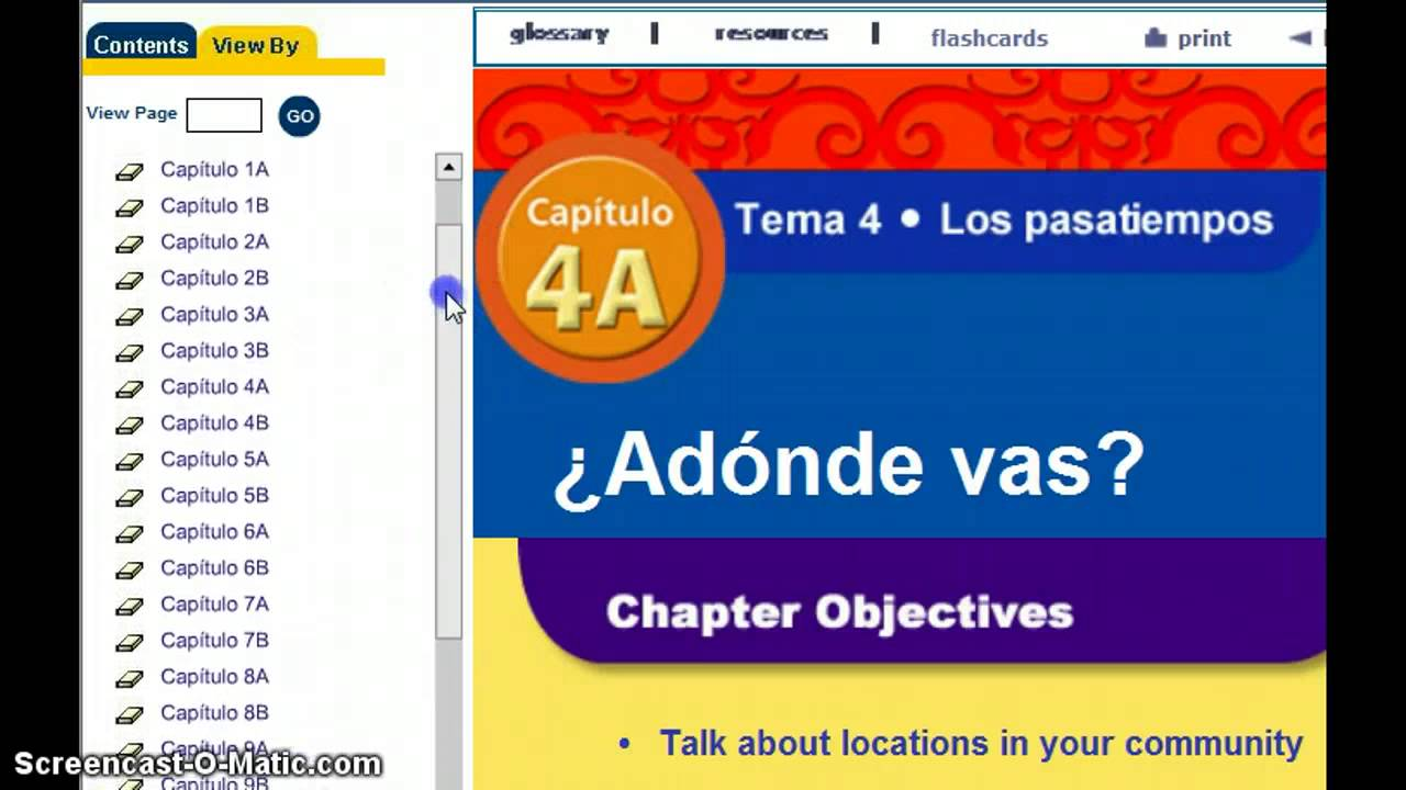 Realidades 1 Online Textbook Access - YouTube