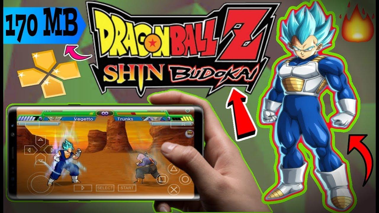170 MB] How To Download Dragon Ball Z shin Budokai ppsspp