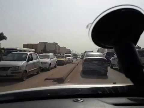 Driving in Khartoum with Anthrax