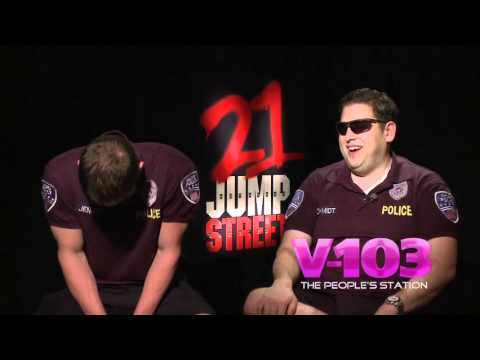 21 Jump Street - Channing Tatum & Jonah Hill Interview With Ramona DeBreaux