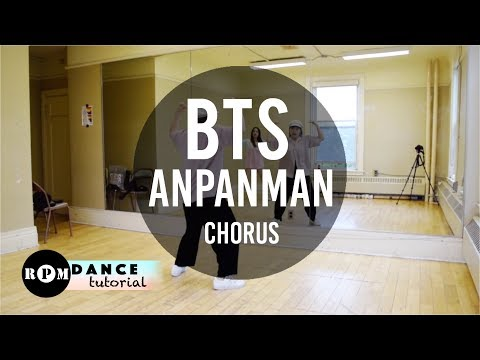 "BTS ""Anpanman"" Dance Tutorial (2nd Chorus)"