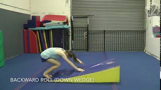 Backward Roll Wedge (Testing skill)