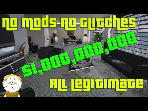 GTA Online Hitting $1,000,000,000 Billion Legitimately No Glitch, No Mod, No Shark Cards