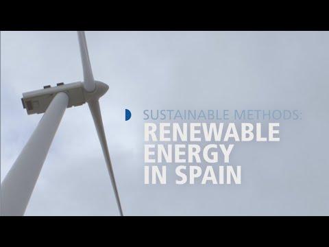 Sustainable Methods  Renewable Energy In Spain HD
