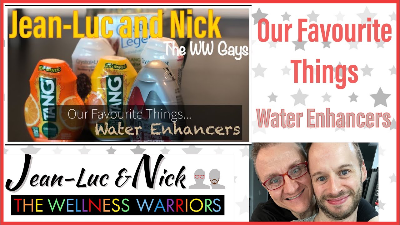 Our Favourite Things: Water Enhancers