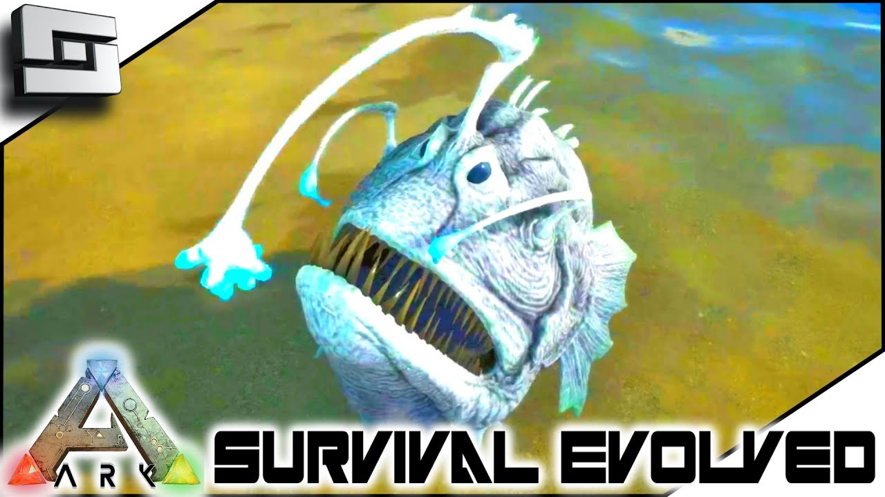 Ark survival evolved kairuku penguin and angler fish for Angler fish ark