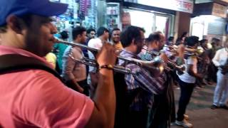 Playing Dharmatma movie song in Ram Navmi in Khar Danda