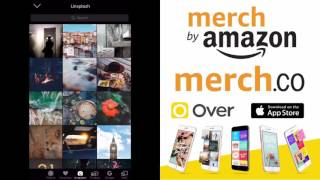 Mobile Design with the Over App for Merch By Amazon
