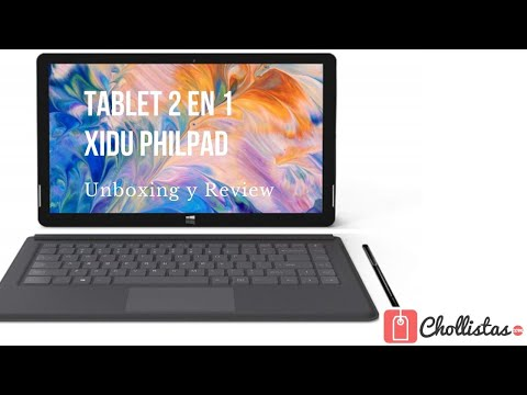 XIDU PhilPad: Unboxing y review en español (Clon de la Microsoft Surface Pro)