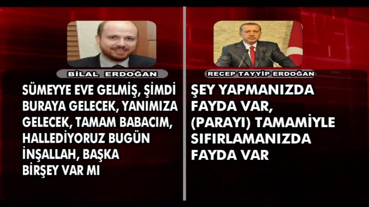 Tayyip Erdoğan & Bilal Erdoğan Telefon Konuşması - YouTube