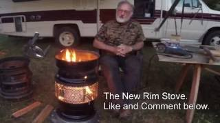 New rim stove Dry stack