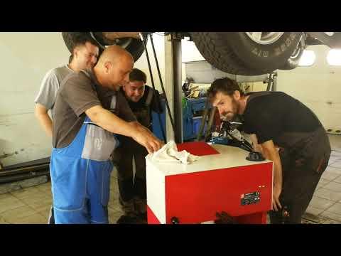 Výměna oleje v automatických převodovkách přístrojem 2F Kambio