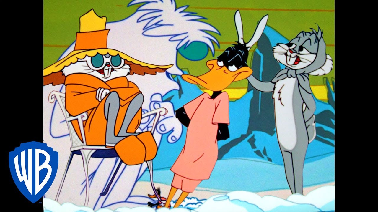 Looney Tunes | Bugs & Daffy's Wintery Holiday | Classic Cartoon | WB Kids