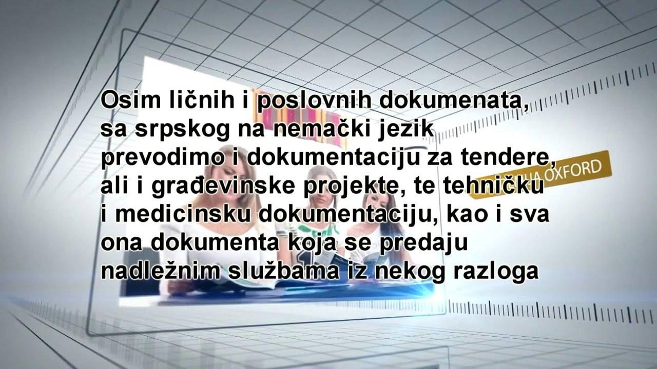 Prevod Sa Srpskog Na Nemacki Jezik Youtube