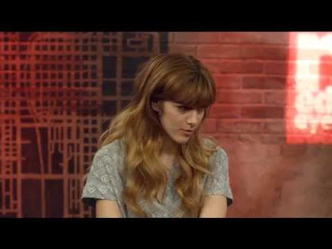 Aubrey Peeples talks 'Nashville' and tap dances