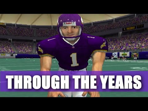 Gary Anderson Through The Years - madden 97 - madden 06