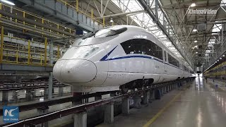 China trains first female high-speed train drivers