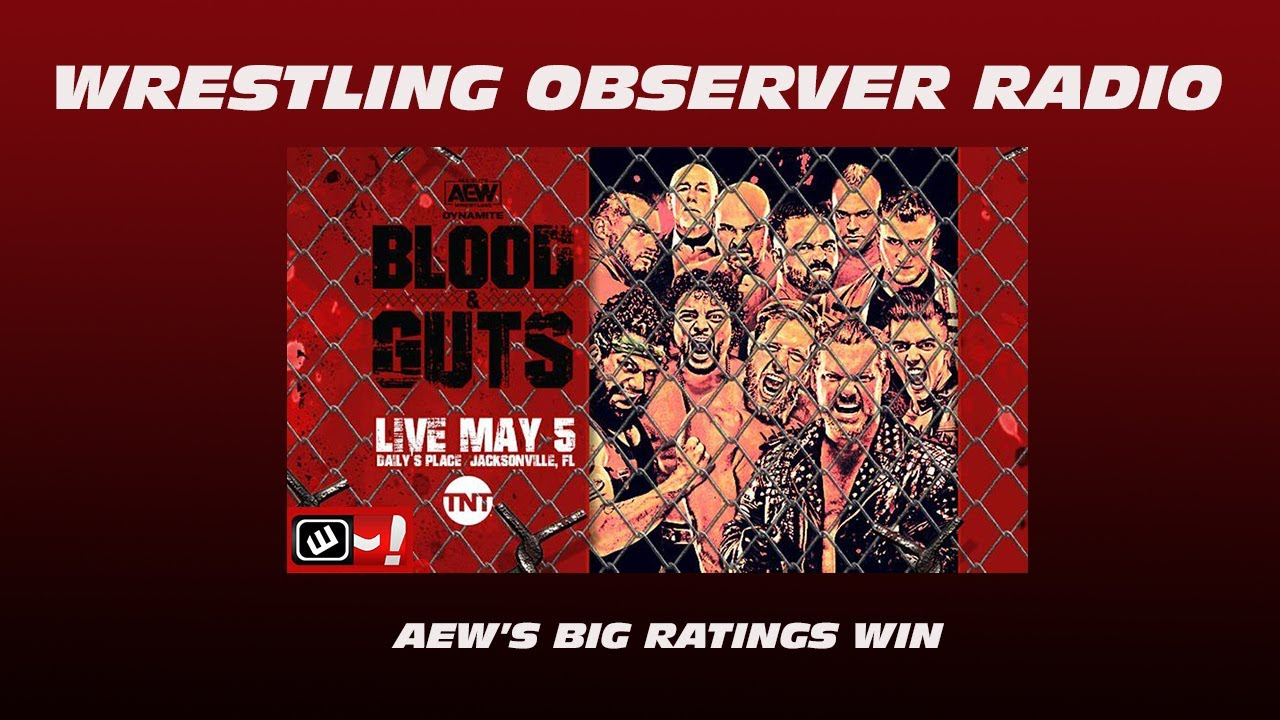 AEW topped the cable charts for the first time this week: Wrestling Observer Radio